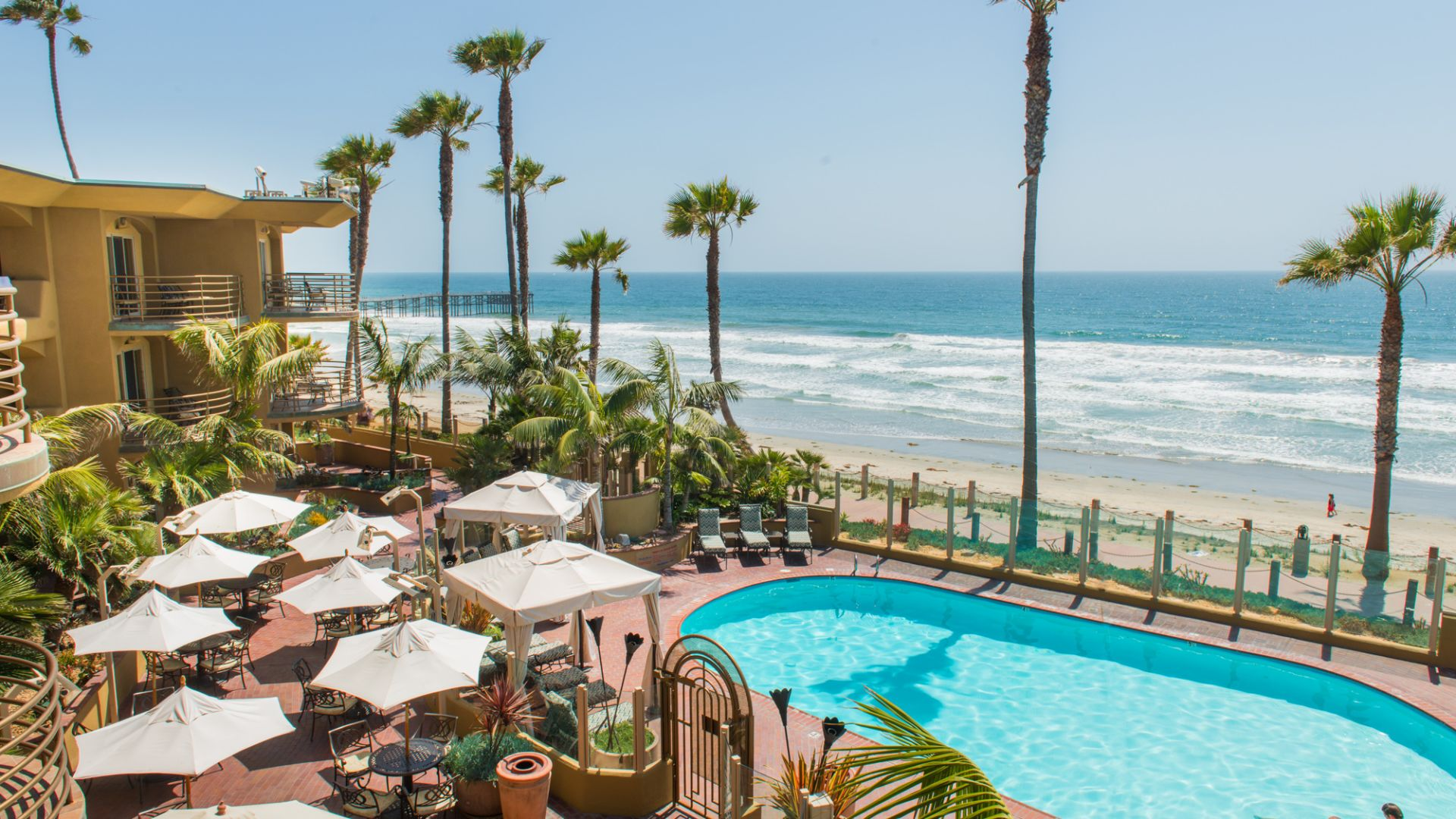 Hotels In San Diego >> Pacific Beach San Diego Hotel Pacific Terrace Hotel