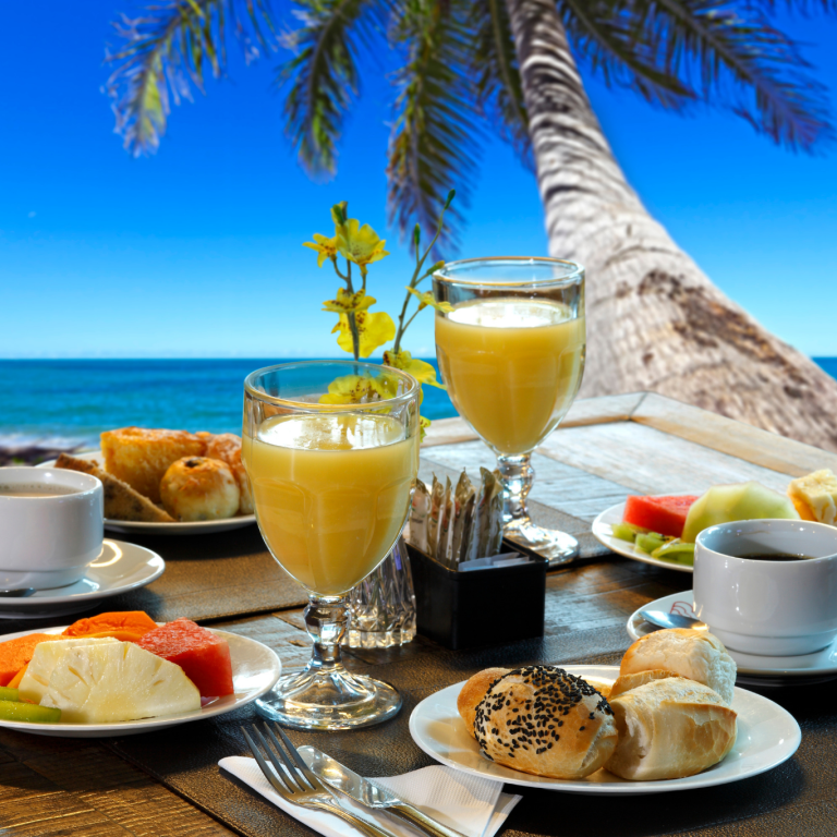 Beach & Breakfast Package