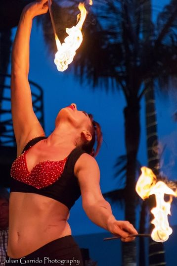 Fire Dance Show in San Diego